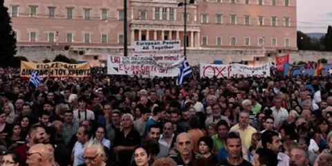 GreeceBailoutProtestorsNoToECB_large