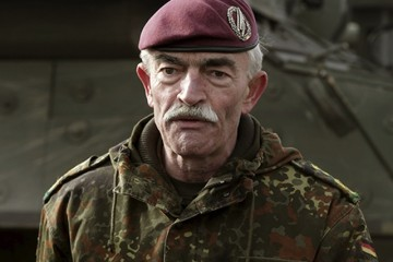 Commander Joint Force Command Brunssum General Hans-Lothar Domrose (Reuters / Ints Kalnins)