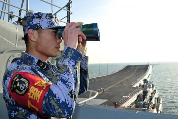 Chinese aircraft carrier Liaoning sails into Sanya
