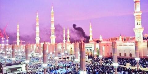 medina smoke after bombing