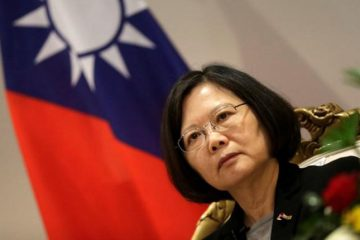 Taiwan's President Tsai Ing-wen speaks during an interview in Luque, Paraguay, June 28, 2016. REUTERS/Jorge Adorno