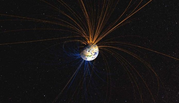 Earth's-magnetic-field—reversing-or-fluctuating