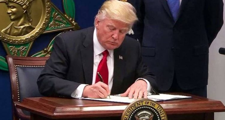 Image result for Trump Signs New Travel-Ban Directive