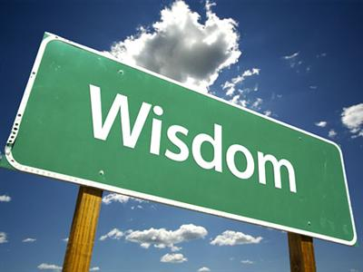 wisdom-green-sign