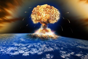 EXPLOSION OVER NORTH KOREA WW3