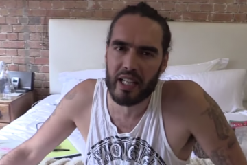 russell brand quits the trews